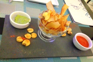Couvert: Chips peruano!! Adorei!!