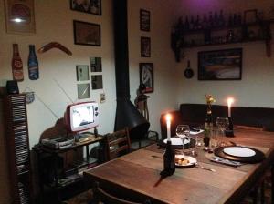 Como fomos no Dia dos Namorados, jantamos sozinhos no ambiente. No entanto, cabe ressaltar que você pode dividir a mesa/ambiente com desconhecidos!!