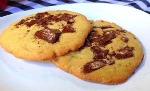 Cookies recém saídos do forno