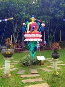 BUDA SHAKYAMUNI: a arte tradicional tibetana é inspirada pelos ensinamentos de Buda.