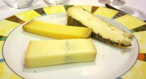 Sobremesa 1:  queijos franceses!! Hmmmm...