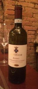 Segundo vinho: SANTA GIULIA- Rosso di Montalcino 2012! Muito bom!!