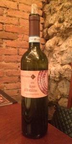 Primeiro vinho: CONTUCCI- Rosso di Montepulciano 2012